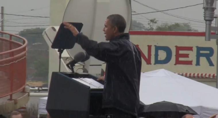 President Barack Obama in Asbury Park, NJ