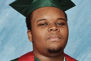 Michael Brown graduation picture