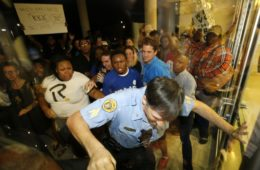 Dillard University protest