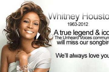 Whitney Houston design
