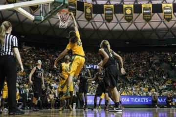 Brittany Griner dunks