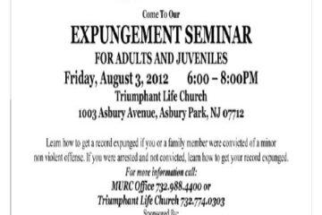 expungment seminar