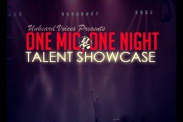 one mic, one night talent showcase