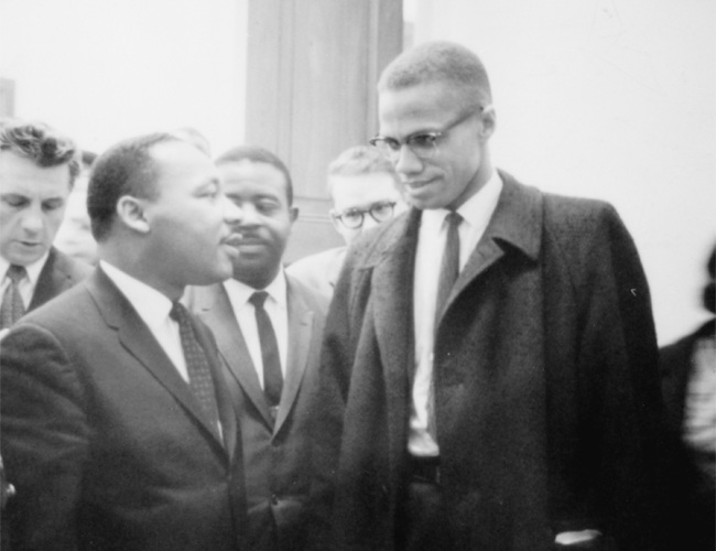malcolm x vs dr king passive Comparison of martin and malcolm he advocated non-violent direct action and was an upholder of passive i want dr king to know that i didn't come to.