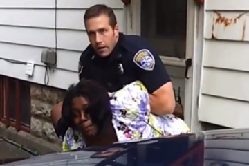 Rochester Police Punch Woman