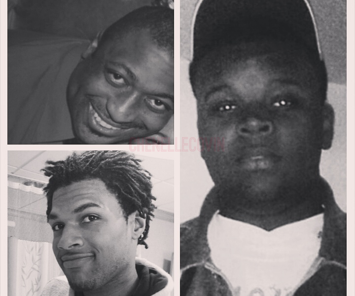 John Crawford, Eric Garner, Mike Brown