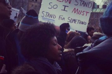 protests against police brutality in New York City