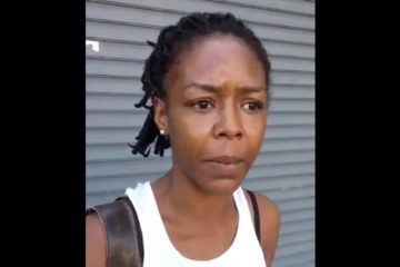 DC Woman Man-Handled by Police