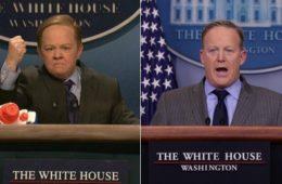 Sean Spicer SNL